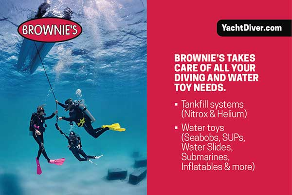 Brownies Dive Gear and Water Toys