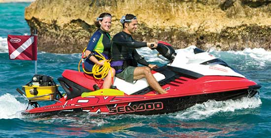 Brownies Third Personal Watercraft Diving System