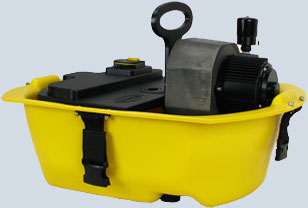 Brownie 39 s third lung explorer vs2655x hookah system - Floating dive compressor ...