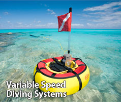 variable speed diving systems