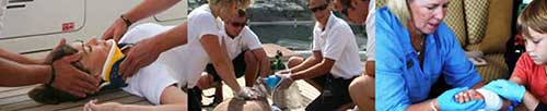 Medical Kits Training fior Yachts