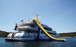 Cruiser LS Yacht Water Slide