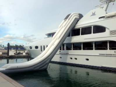 Legless Water Slide
